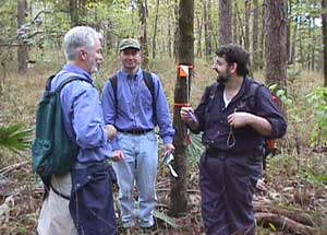 Team-Building-Trail-Blazers-7-at-a-waypoint-marker